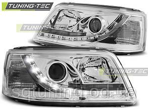 Фары VW T5 04.03-08.09 DAYLIGHT CHROME