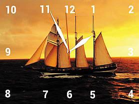 Часы настенные стеклянные Т-Ок 007 SG-3004002