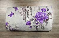 Ткань ранфорс - Sussan lilac лиловый 46499. Турция