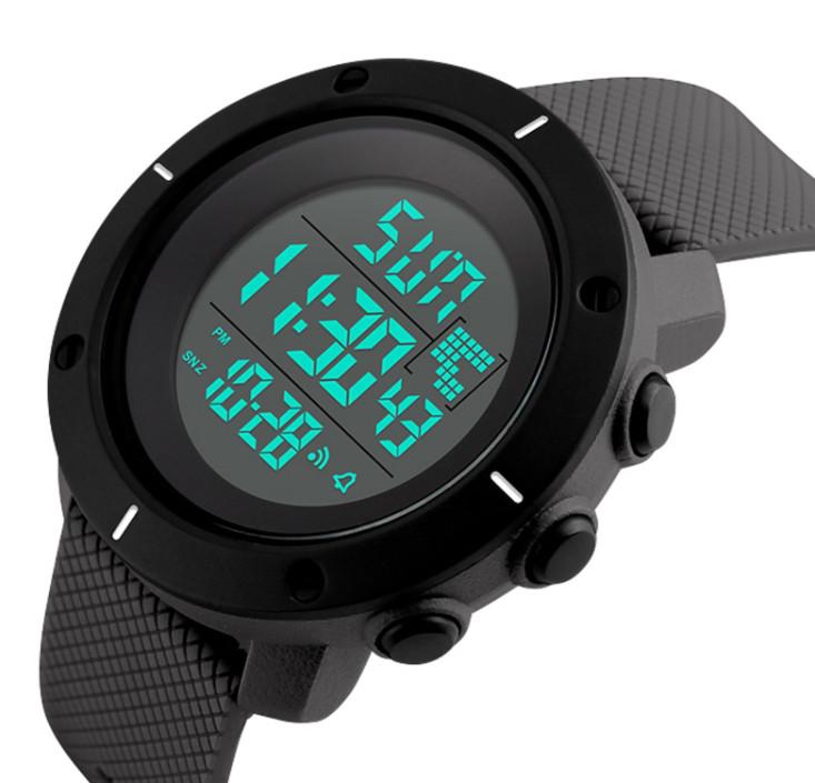 Мужские часы Skmei Dekker Black