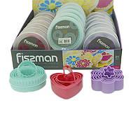 Пластиковый набор для вырезания печенья из 5 формочек Fissman
