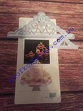 Набор вырубок для создания Короны из мастики (2шт в наборе)