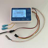 Цифровой контроллер расхода жидкости с датчиком температуры