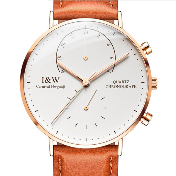 Мужские часы Carnival Chronograph White