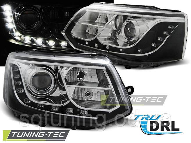 Фары VW T5 2010-2015 TRU DRL