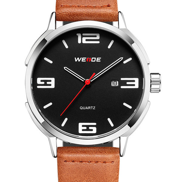 Мужские часы Weide Leather