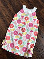 Платье сарафан для девочки летнее Америка 04