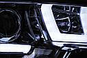 Фари VW T5 2010-2015 U-TYPE CHROME, фото 4
