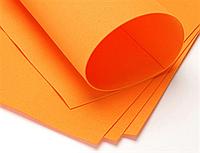 Фоамиран А4, оранжевый, 1 мм
