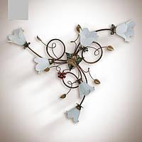 Люстра металлическая для спальни, гостиной 15266-1