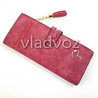 Модный женский кошелек клатч зонтик бумажник органайзер для телефона карточек денег красный