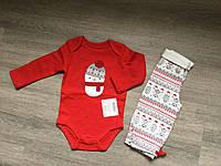 Комплект детский боди+лосины Зима США 08