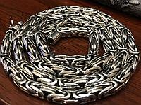 Серебряная цепочка 925 пробы ЛИСИЙ ХВОСТ 95 грамм
