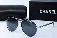 Солнцезащитные очки Chanel темно-синие, фото 1