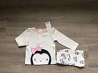Комплект детский кофточка с длинным рукавом +лосины  США 011, Gymboree