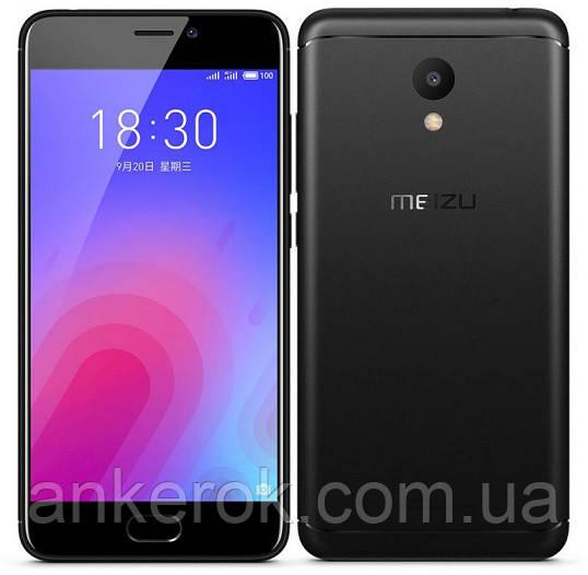 Смартфон Meizu M6 3/32GB (Matte Black)