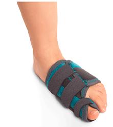Детский жесткий ортез при вальгусной деформации первого пальца стопы Orliman 0P1192/0P1193