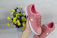 Converse All Star розовые ( Реплика ААА+), фото 1