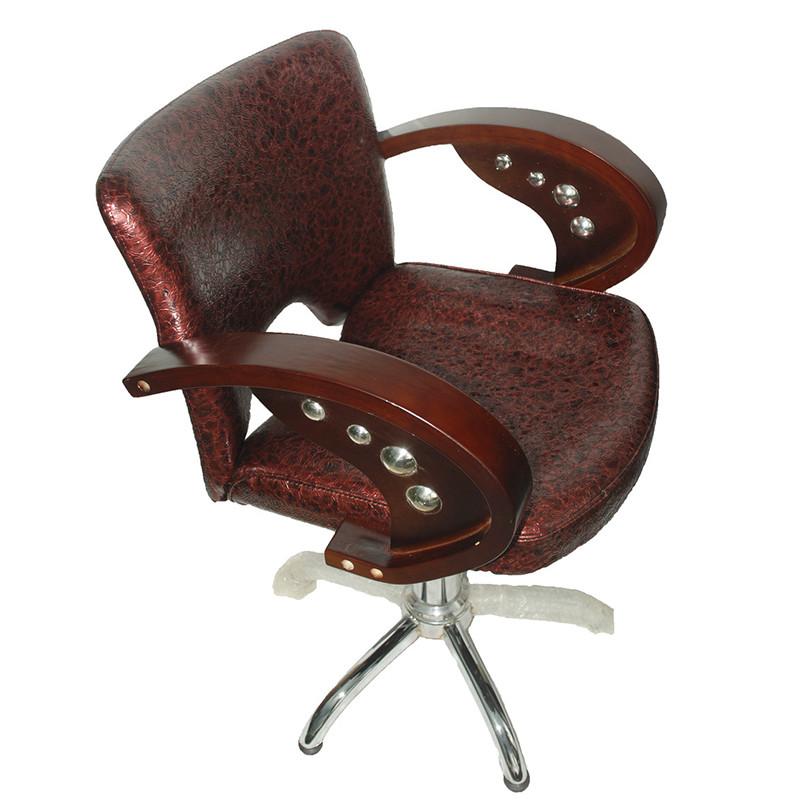 """Парикмахерское кресло  """"Барокко"""" (коричневое)"""