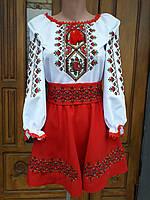 Костюм украинский на девочку, фото 1