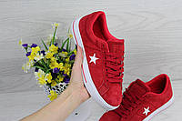 Converse All Star красные 36-41 ( Реплика ААА+), фото 1
