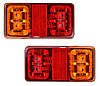 Фонарь задний светодиодный для прицепа, лафет LED2295 12 - 24 V