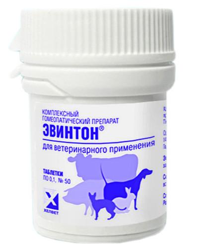 ЭВИНТОН гомеопатический иммунокорректор, 50 таблеток по 0, 1 гр