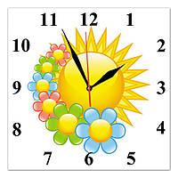 Часы настенные стеклянные Т-Ок 003 S-3003