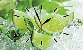 Часы настенные стеклянные Т-Ок 008 SG-3005002
