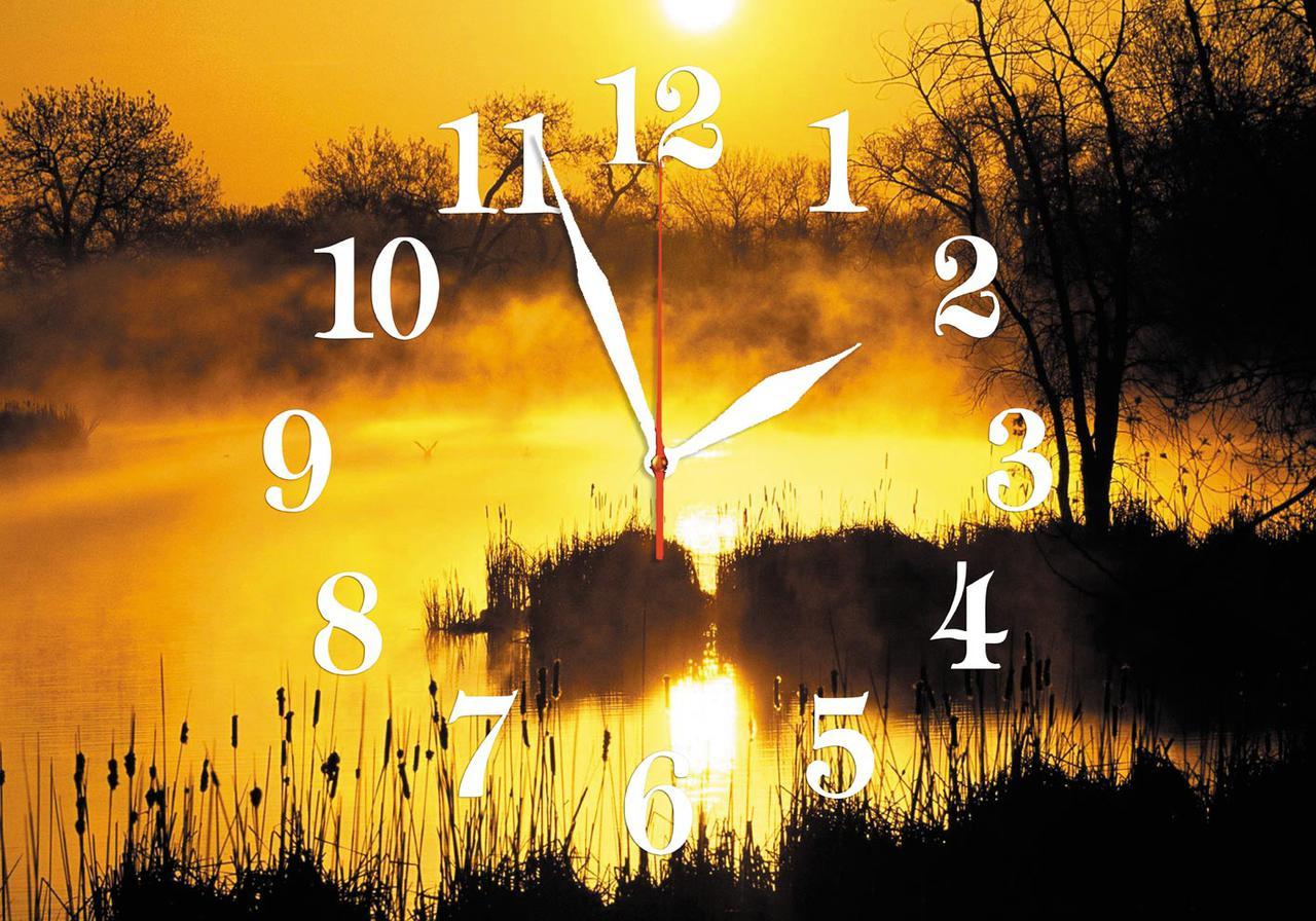 Часы настенные стеклянные Т-Ок 009 SG-3505001