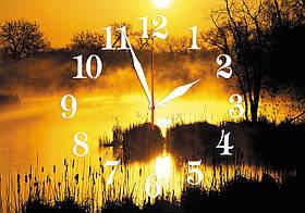 Годинники настінні скляні Т-Ок 009 SG-3505001