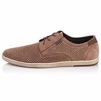 Мужские туфли Affinity весна-лето нубук цвет коричневый 0013АФ