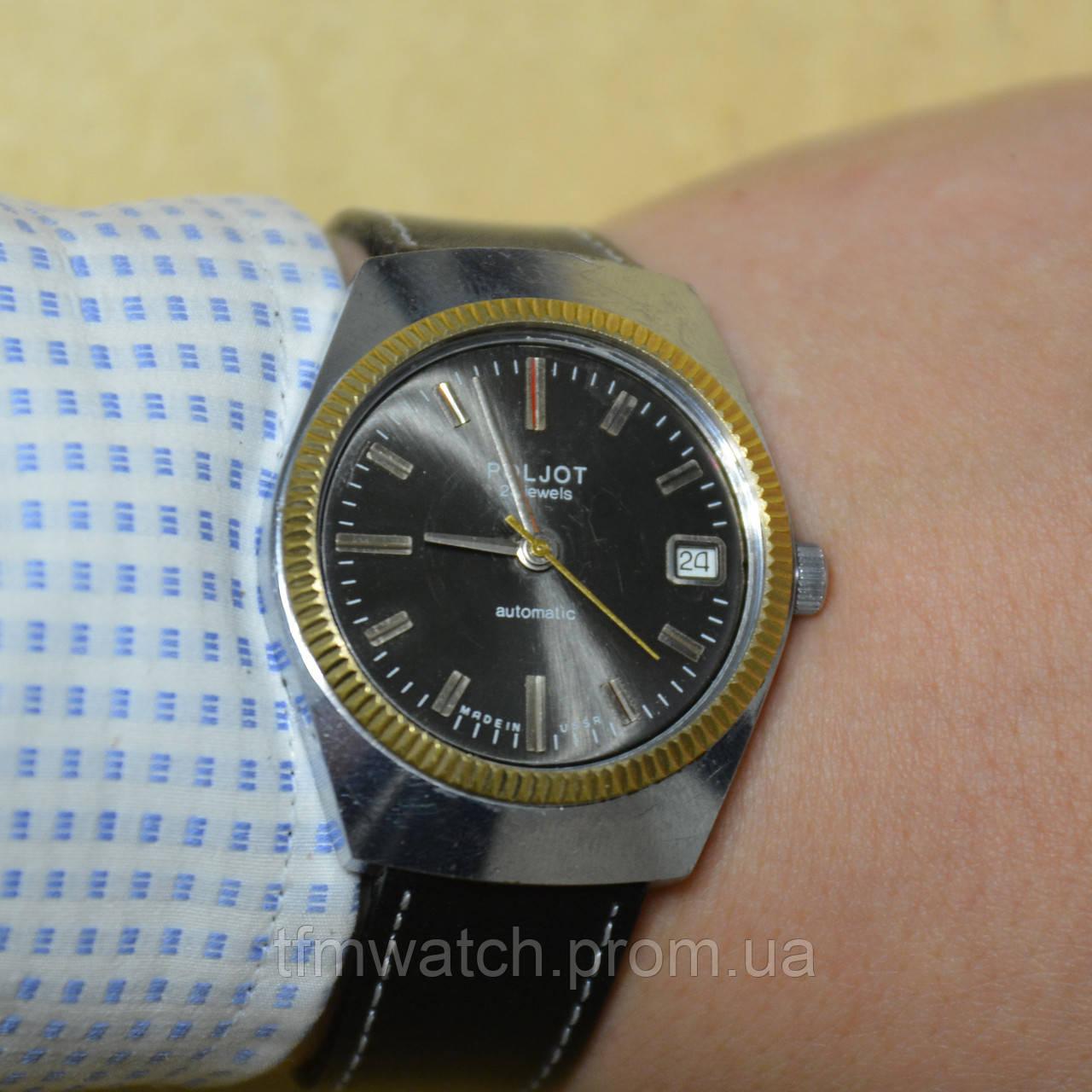 4446b607ccba Poljot Полет мужские наручные часы СССР - Магазин старинных, винтажных и  антикварных часов TFMwatch в