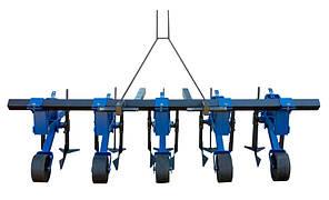 Культиватор 4-рядный для обработки междурядий чеснока, кукурузы, свеклы и других культур, фото 2