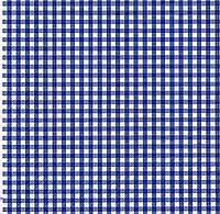Салфетка для декупажа Клетки синие, 33х33 см