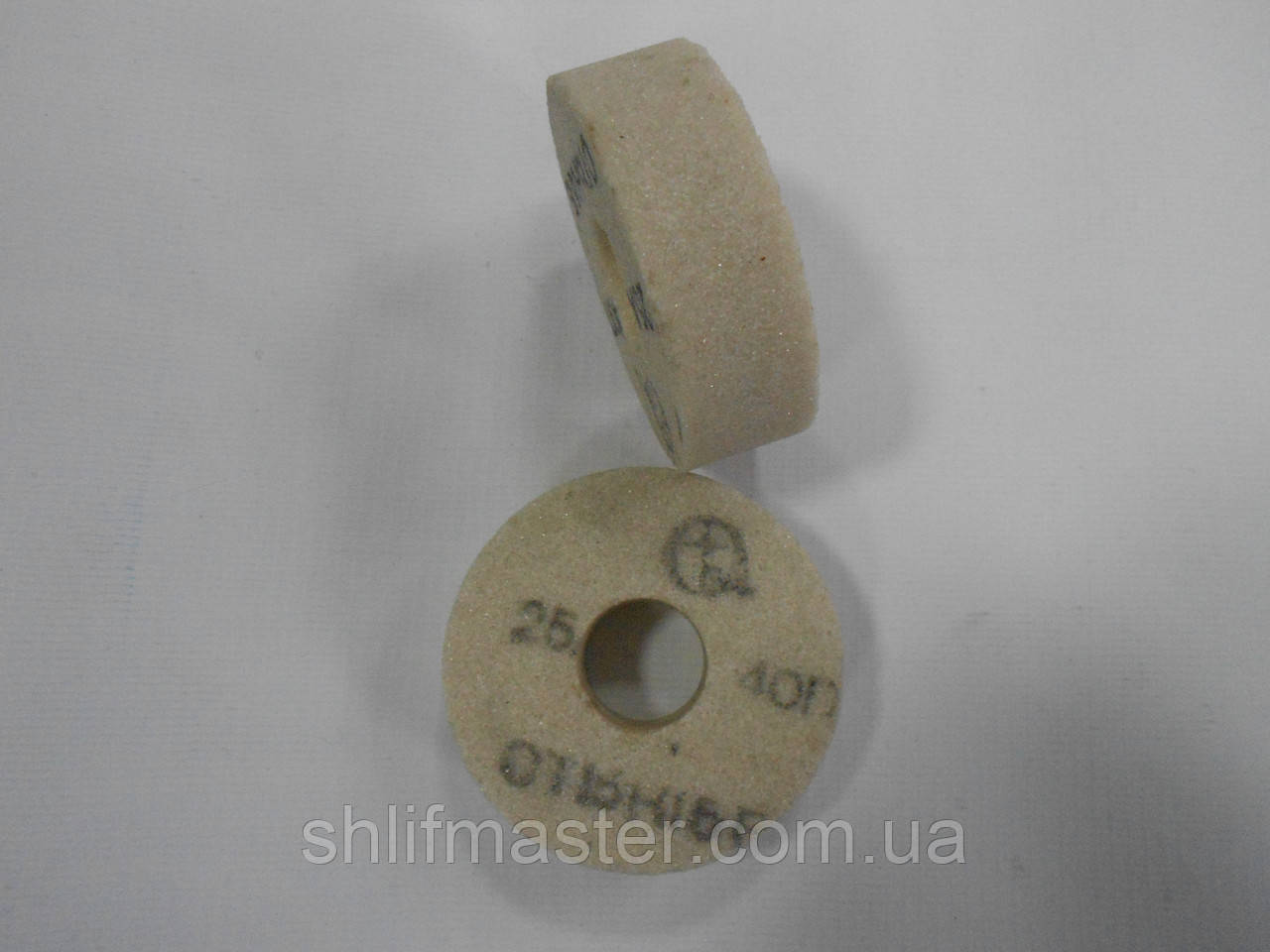 Абразивный круг шлифовальный (электрокорунд белый) 25А ПП 70Х50Х20 25 М-С