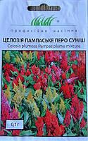 Семена цветов целозия перистая Пампасское Перо смесь 0,1 гр