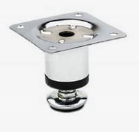 Ножка мебельная круглая д.30мм h50мм (NL05) хром, металл