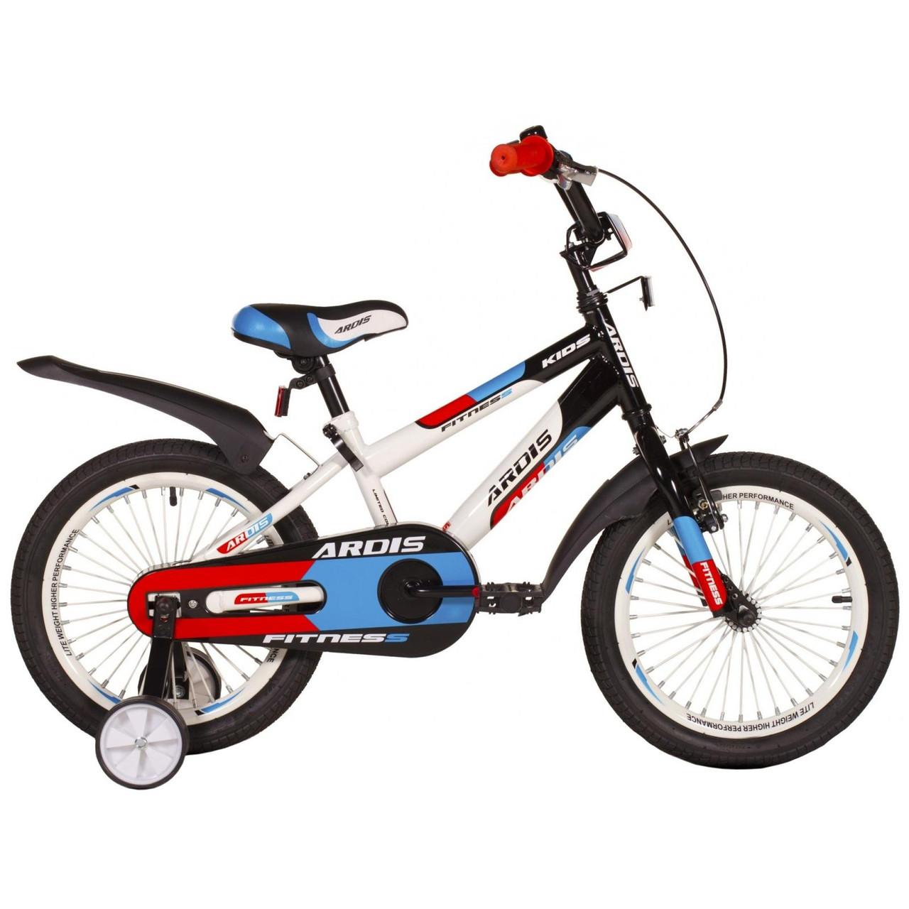 """Детский велосипед ARDIS FITNESS BMX 16""""  Белый/Черный"""