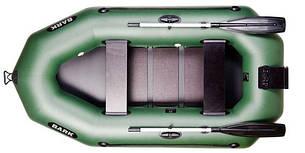 Лодка BARK B-250N, Двухместная Надувная ПВХ Гребная Резиновая Барк Б-250Н, Реечный коврик, Навесной транец, фото 2