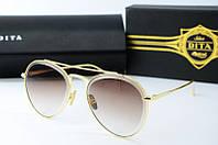 Солнцезащитные очки Dita коричневые, фото 1