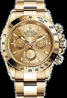 Часы Rolex Daytona кварцевые мужские,ролекс дайтона золотые , фото 1