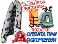 Надувная лодка KOLIBRI (Колибри) КМ-450DSL