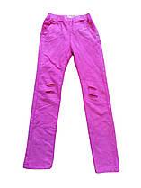 Трикотажные спортивные штаны для девочек, Grace, размеры 116-146. арт. G 70726-2