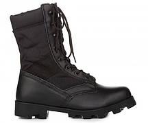 Черные мужские сапоги VELCO US ARMY Jungle Condura Tropical Combat 9 inch Black
