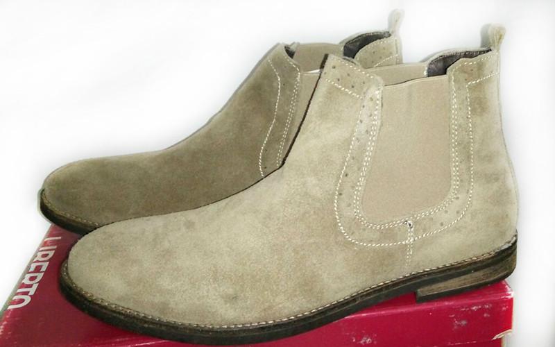 Полуботинки мужские с натуральной замши Shoes 09M