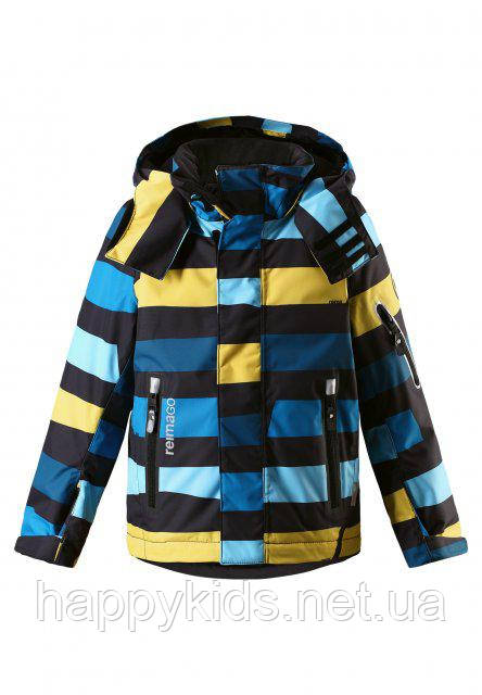 Зимняя куртка для мальчиков ReimaТес 521521B-6498. Размер 140., фото 1