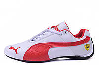 Мужские кроссовки Puma Ferrari Low White Red M