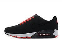 Стильные кроссовки для мужчин Nike Air Max 90 VT Tweed Black Red White