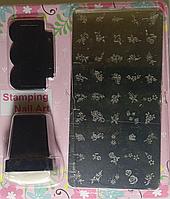 Набор для стемпинга с силиконовой печатью